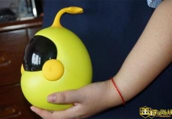 【金测评】布丁迷你豆早教机器人评测:孩子的培养从胎教开始