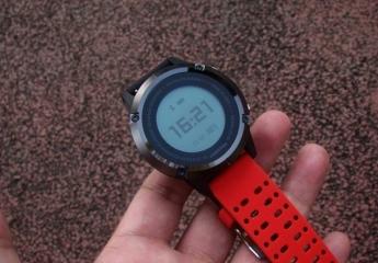 咕咚GPS运动手表S1体验:50米防水