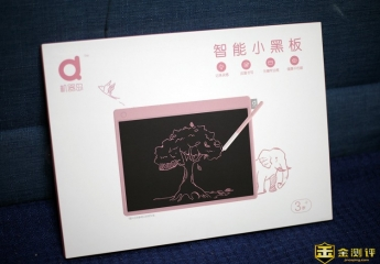【金测评】机器岛智能小黑板测评:书写绘画样样行