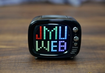 Divoom TIVOO像素电视蓝牙音箱体验:像素音箱也能这么可爱