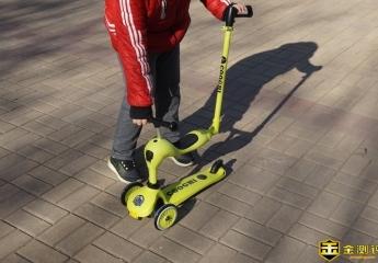 【金评测】 酷骑V3多功能滑板车评测:陪着孩子一起长大