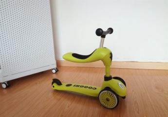 【金测评】体验酷骑V3多功能儿童滑板车:拒绝补习班,给孩子一个快乐的童年