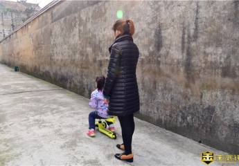 【金测评】酷骑V3多功能滑板体验:宝贝的新型多功能装备