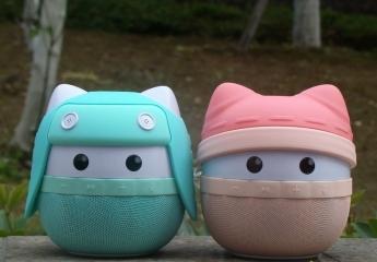 阿希莫(asimom) 双子猫儿童 早教/蓝牙音箱