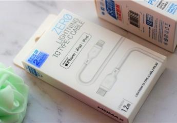 iPhone XS Max快充只能买官方快充线?小白C to Lightning快充线体验