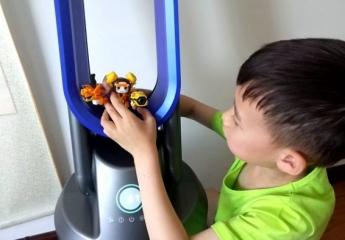 【金测评】安美瑞A8无叶净化风扇:中国智造与进口制造相抗横的家电产品
