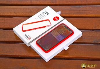 【金测评】cike小红壳轻薄防摔壳,iPhone X从未如此有安全感