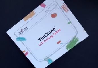 【金测评】TintZone绘特美Z系列彩色液晶画板上手体验:孩子涂鸦好帮手