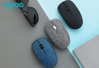 【金测评】试用第73期 雷柏M200PLUS多模式布艺无线鼠标免费试用