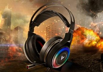 【试用中】【金测评】试用第88期 雷柏VH520虚拟7.1声道RGB游戏耳机免费试用
