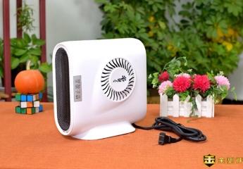 【金测评】小尼熊多功能暖风机:一机多用,这个冬季暖暖的!