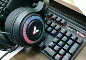 【金测评】雷柏VH520虚拟7.1声道RGB游戏耳机:电竞新宠儿
