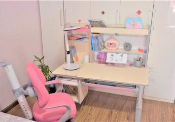 爱果乐大收纳儿童学习桌椅怎么样,分区收纳,矫正坐姿