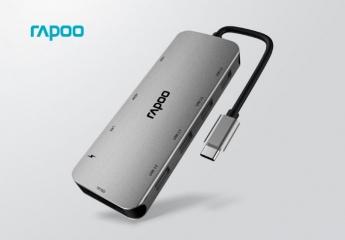 【金测评】试用第113期 雷柏XD200 USB-C 10口扩展坞免费试用