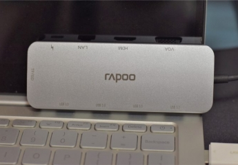 笔记本电脑接口扩展必备,雷柏XD200 USB扩展HUB