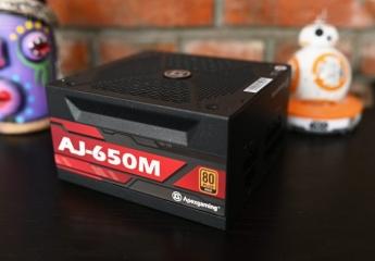 【金测评】艾湃电竞AJ-650M体验:稳定耐用大功率全模组电源,全日系电容加持