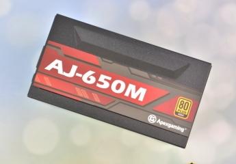 【金测评】艾湃电竞AJ-650M金牌全模组电源试用:按需接线,高效稳定又静音