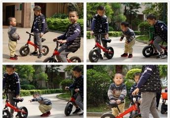 【金测评】COOGHI酷骑S系列儿童平衡车体验,畅快滑行,勇敢直前
