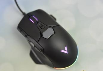 【金测评】雷柏V330幻彩RGB游戏鼠标体验:可扩展侧裙,持握更舒适