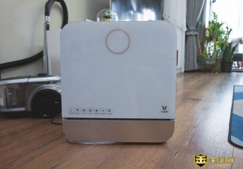【金测评】云米免安装台面洗碗机Suger A1:只动嘴不洗碗,不用安装的洗碗机