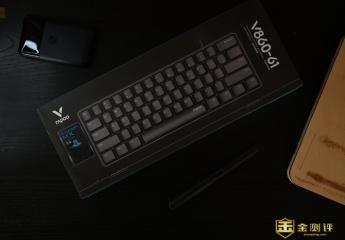 【金测评】雷柏V860键盘体验:键位轴体随心搭配,愉悦敲击低调顺滑