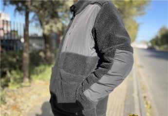 冬天买夹克,看看悠启仿羊羔绒双面夹克如何?
