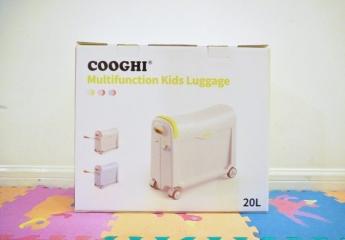 【金测评】孩子的COOGHI酷骑儿童多功能行李箱:让旅行充满仪式感