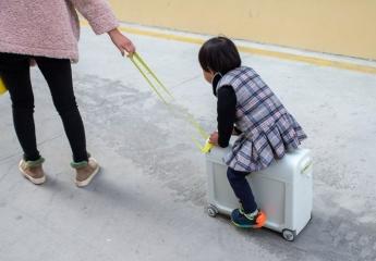 【金测评】COOGHI酷骑完美出行家系列儿童行李箱体验:解放双手,轻松溜娃