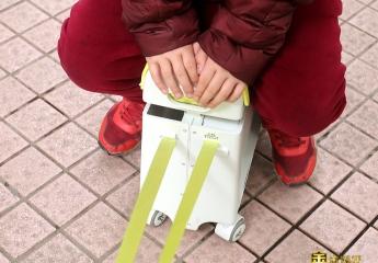 【金测评】COOGHI酷骑儿童行李箱:轻松溜娃更方便