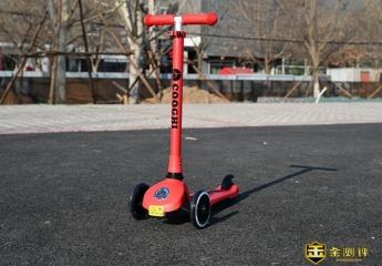 【金测评】安心玩乐,小朋友的多彩玩具,尽在发光滑板车