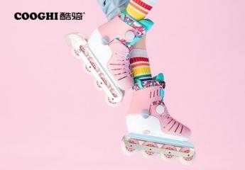 【金测评】试用第193期 COOGHI酷骑儿童双旋扣轮滑鞋免费试用