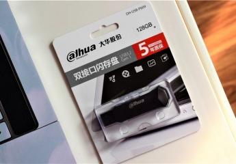 便携双接口,快速传输,大华手机U盘P609体验