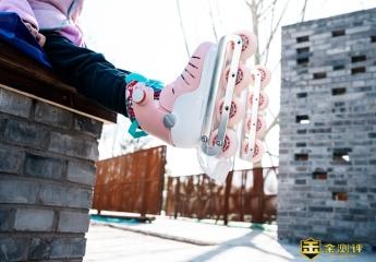 【金测评】酷骑轮滑鞋体验:给小朋友的轮滑启蒙工具,安全又耐用