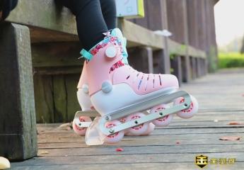 【金测评】儿童轮滑鞋体验分享:充满挑战和乐趣的玩具