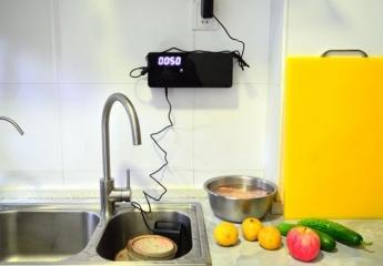 【金测评】小尼熊食材净化机,去除农药激素残留,厨房好帮手