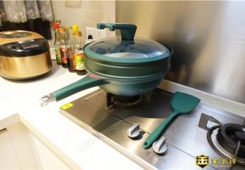 【金测评】帝伯朗菲尼雅多用不粘锅体验:这是一口一锅多用的不沾锅