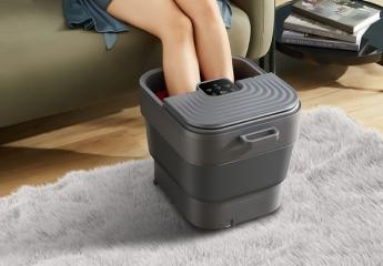 【金测评】试用第268期 HITH智能自动折叠足浴器D3免费试用