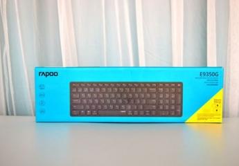【金测评】雷柏E9350G多模无线刀锋键盘:轻薄便携、多模连接