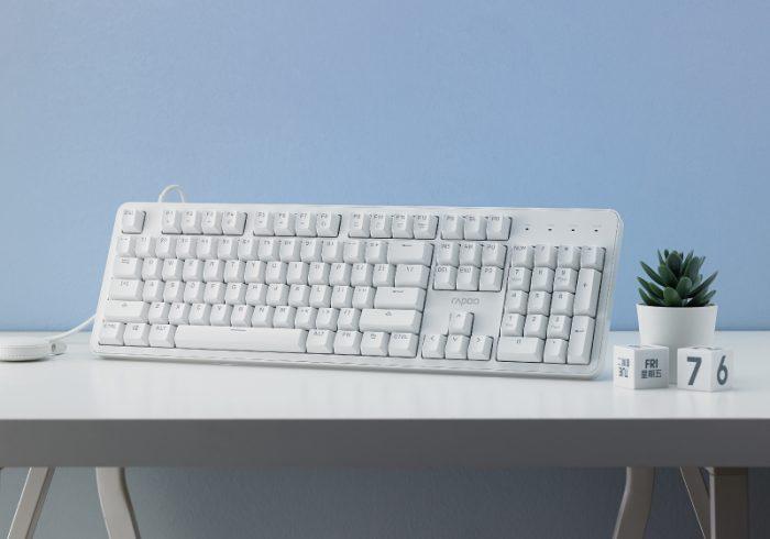 【金测评】试用第119期 雷柏MT710办公背光机械键盘免费试用