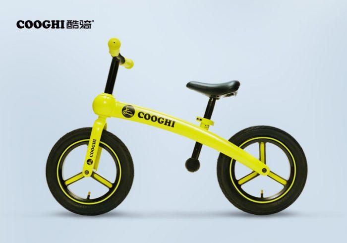 【金测评】试用第125期 COOGHI酷骑S系列儿童平衡车免费试用